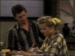 Des Clarke, Daphne Clarke in Neighbours Episode 0483
