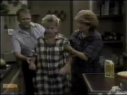 Harold Bishop, Daphne Clarke, Madge Mitchell in Neighbours Episode 0484