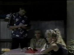 Des Clarke, Jane Harris, Charlene Mitchell in Neighbours Episode 0484