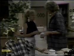 Daphne Clarke, Charlene Mitchell, Madge Bishop in Neighbours Episode 0484