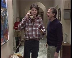 Melanie Pearson, Joe Mangel, Doug Willis in Neighbours Episode 1520
