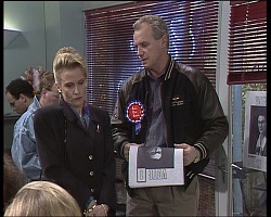 Felicity Brent, Jim Robinson in Neighbours Episode 1521