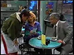 Rick Alessi, Madge Bishop, Lou Carpenter in Neighbours Episode 1720