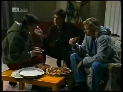 Rick Alessi, Cameron Hudson, Brad Willis in Neighbours Episode 1720