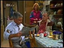 Lou Carpenter, Madge Bishop, Jim Robinson in Neighbours Episode 1720