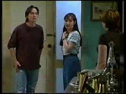 Darren Stark, Susan Kennedy, Libby Kennedy in Neighbours Episode 3041