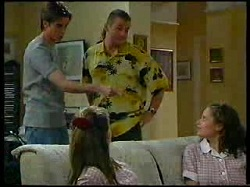 Nick Atkins, Anne Wilkinson, Toadie Rebecchi, Caitlin Atkins in Neighbours Episode 3041
