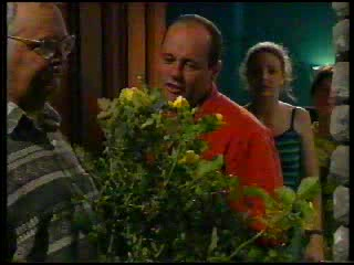 Harold Bishop, Philip Martin, Hannah Martin, Paul McClain in Neighbours Episode 3053