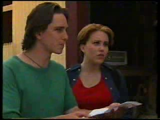 Darren Stark, Libby Kennedy in Neighbours Episode 3053