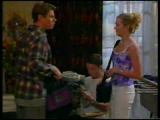 Lance Wilkinson, Ben Atkins, Amy Greenwood in Neighbours Episode 3053