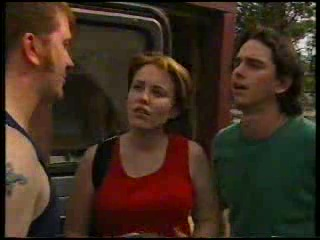 Col Steele, Libby Kennedy, Darren Stark in Neighbours Episode 3053