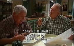 Lou Carpenter, Harold Bishop in Neighbours Episode 4664