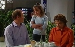 Max Hoyland, Summer Hoyland, Lyn Scully in Neighbours Episode 4664