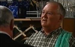 Lou Carpenter, Harold Bishop in Neighbours Episode 4665