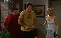 Toadie Rebecchi, Stuart Parker, Sindi Watts in Neighbours Episode 4665