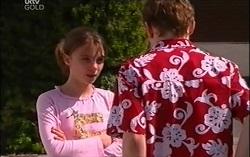 Summer Hoyland, Caleb Wilson in Neighbours Episode 4665