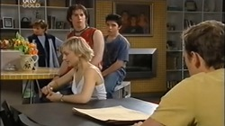 Susan Kennedy, Dylan Timmins, Stingray Timmins, Sindi Watts, Stuart Parker in Neighbours Episode 4666