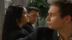 Carmella Cammeniti, Frank Romano, Connor O