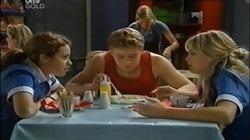 Serena Bishop, Boyd Hoyland, Sky Mangel in Neighbours Episode 4668
