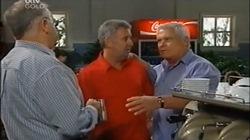 Harold Bishop, Gino Esposito, Lou Carpenter in Neighbours Episode 4668