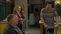 Harold Bishop, Sky Mangel, David Bishop in Neighbours Episode 4669