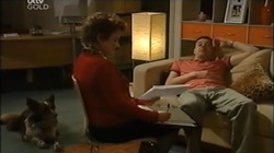 Harvey, Lyn Scully, Andy Tanner in Neighbours Episode 4673