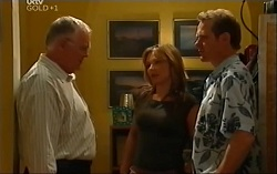 Harold Bishop, Steph Scully, Max Hoyland in Neighbours Episode 4701