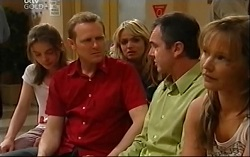 Summer Hoyland, Max Hoyland, Sky Mangel, Karl Kennedy, Steph Scully in Neighbours Episode 4702