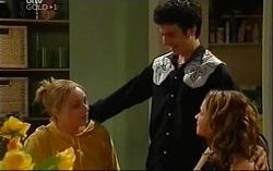 Janelle Timmins, Stingray Timmins, Serena Bishop in Neighbours Episode 4702