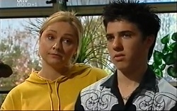 Janelle Timmins, Stingray Timmins in Neighbours Episode 4702