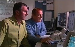 Karl Kennedy, David Daly in Neighbours Episode 4702