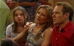 Summer Hoyland, Steph Scully, Max Hoyland in Neighbours Episode 4702