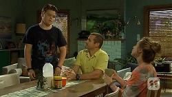 Callum Jones, Toadie Rebecchi, Sonya Mitchell in Neighbours Episode 6672