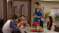 Brad Willis, Terese Willis, Josh Willis, Imogen Willis in Neighbours Episode 6672