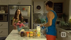 Imogen Willis, Josh Willis in Neighbours Episode 6672