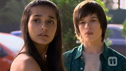 Rani Kapoor, Bailey Turner in Neighbours Episode 6672