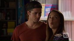 Tyler Brennan, Paige Novak in Neighbours Episode 7126