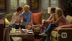 Susan Kennedy, Lauren Turner, Sonya Mitchell, Georgia Brooks in Neighbours Episode 7126