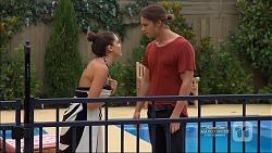 Paige Novak, Tyler Brennan in Neighbours Episode 7127