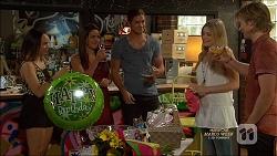 Imogen Willis, Paige Novak, Tyler Brennan, Amber Turner, Daniel Robinson in Neighbours Episode 7127