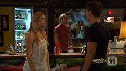 Amber Turner, Daniel Robinson, Josh Willis in Neighbours Episode 7127