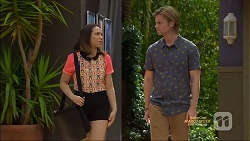 Imogen Willis, Daniel Robinson in Neighbours Episode 7128