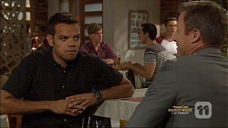Nate Kinski, Ezra Hanley in Neighbours Episode 7128
