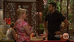 Sheila Canning, Nate Kinski in Neighbours Episode 7128