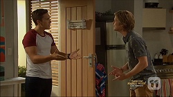 Josh Willis, Daniel Robinson in Neighbours Episode 7128