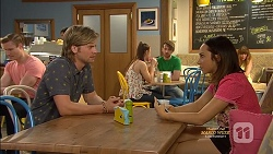 Daniel Robinson, Imogen Willis in Neighbours Episode 7129