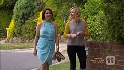 Naomi Canning, Georgia Brooks in Neighbours Episode 7129