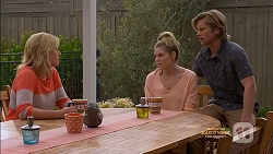 Lauren Turner, Amber Turner, Daniel Robinson in Neighbours Episode 7129