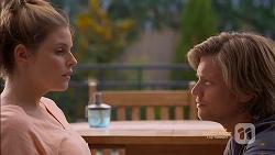 Amber Turner, Daniel Robinson in Neighbours Episode 7129