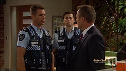 Mark Brennan, Police Officer, Ezra Hanley in Neighbours Episode 7130